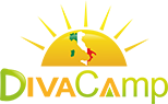logo Divacamp safaritenten vallicella glamping resort